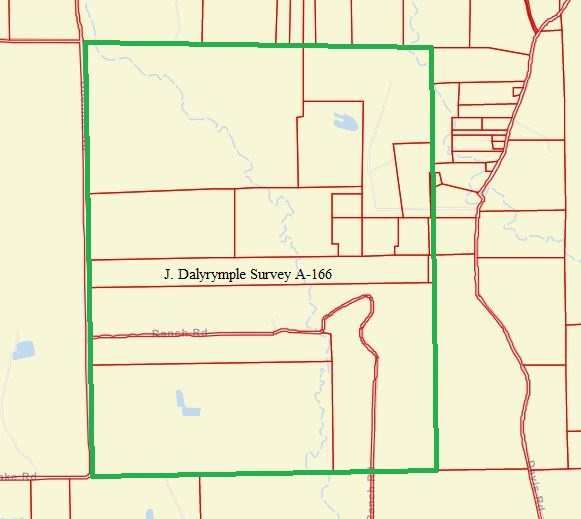 Fayette County - Dalyrymple Survey A-166